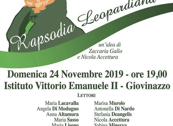 rapsodia Leopardiana