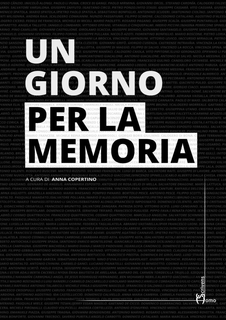 copertina Un giorno per la memoria